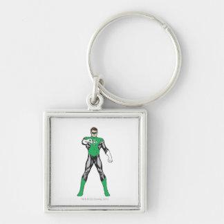 New Green Lantern 4 Keychains