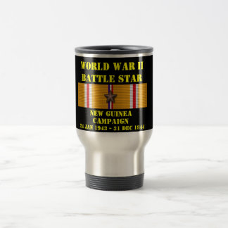 New Guinea Campaign Stainless Steel Travel Mug