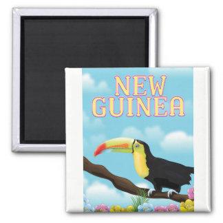 New Guinea Toucan travel poster Magnet