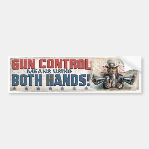 New Gun Rights Gear Car Bumper Sticker