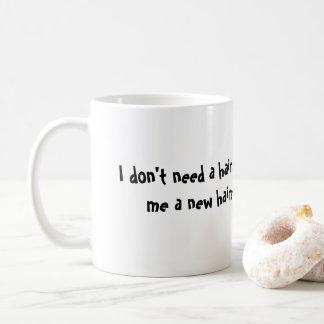 New Hair Style Coffee Mug