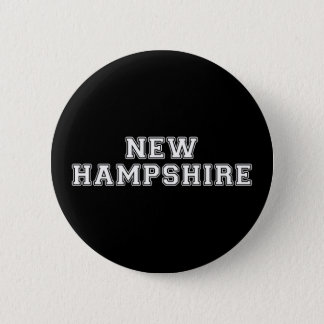 New Hampshire 6 Cm Round Badge