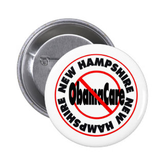 New Hampshire Anti ObamaCare – November's Coming Pins