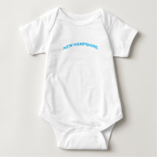 New Hampshire Arch Text Baby Bodysuit