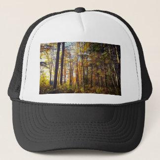 New Hampshire Autumn Forest Trucker Hat
