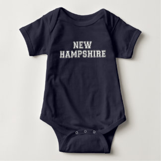 New Hampshire Baby Bodysuit