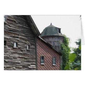 New Hampshire Barn Card