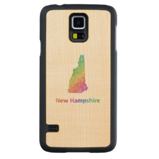 New Hampshire Carved Maple Galaxy S5 Case