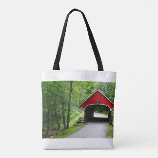 New Hampshire Covered Bridge Flume Gorge Tote Bag
