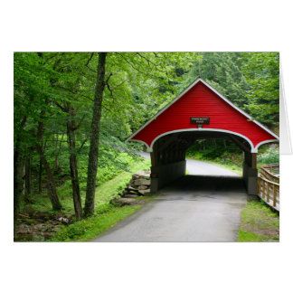 New Hampshire Covered Bridge Note Card