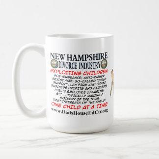 New Hampshire Divorce Industry. Classic White Coffee Mug