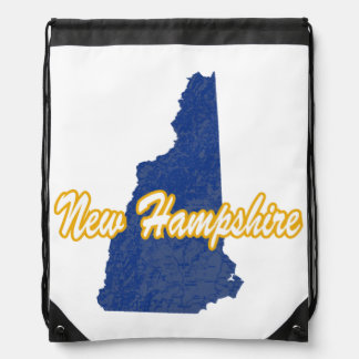New Hampshire Drawstring Bag