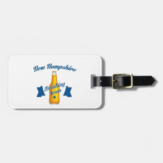 New Hampshire Drinking team Luggage Tag