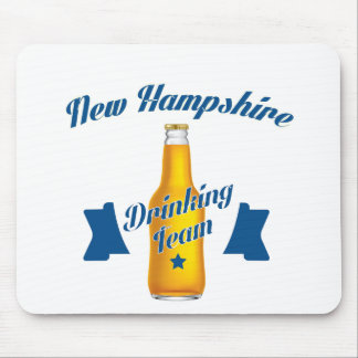 New Hampshire Drinking team Mouse Pad