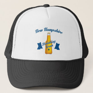 New Hampshire Drinking team Trucker Hat