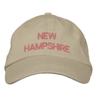 NEW HAMPSHIRE EMBROIDERED HAT