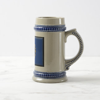 New Hampshire Flag Beer Stein