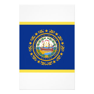 New Hampshire Flag Stationery