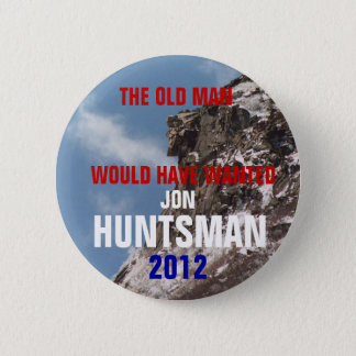 New Hampshire for Jon Huntsman 2012 button