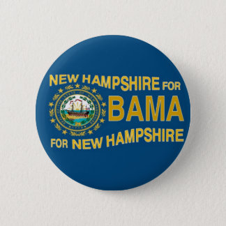 NEW HAMPSHIRE FOR OBAMA Button