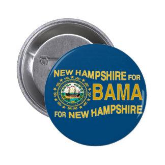 NEW HAMPSHIRE FOR OBAMA Button