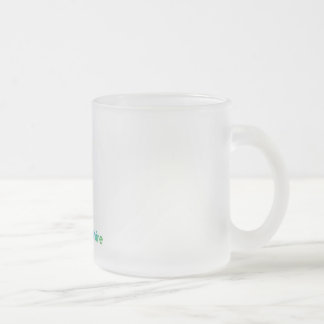 New Hampshire Frosted Glass Coffee Mug