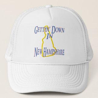 New Hampshire - Gettin' Down Trucker Hat