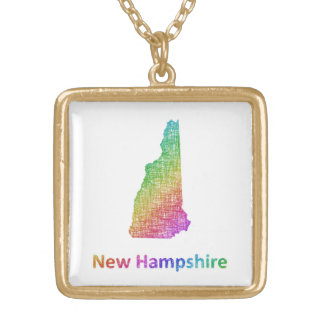 New Hampshire Gold Plated Necklace