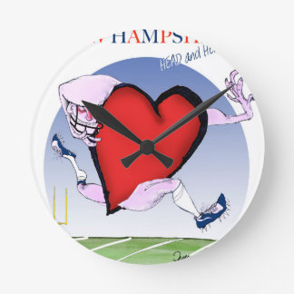new hampshire head heart, tony fernandes round clock