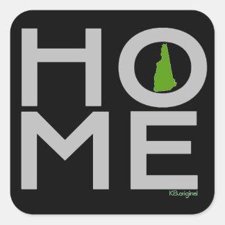 New Hampshire HOME sticker