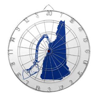 New Hampshire Ice Climbing Dartboard