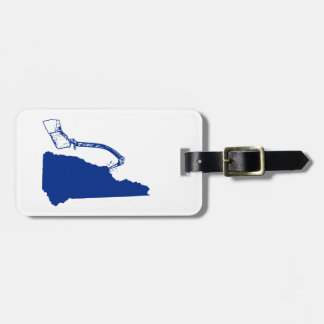 New Hampshire Ice Climbing Luggage Tag