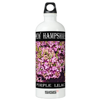 New Hampshire Lilac (Purple) Water Bottle