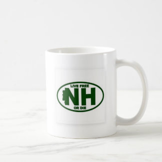 New Hampshire Live Fee or Die Coffee Mug