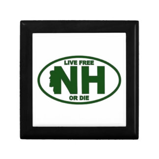 New Hampshire Live Fee or Die Gift Box