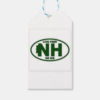 New Hampshire Live Fee or Die Gift Tags