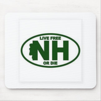 New Hampshire Live Fee or Die Mouse Pad