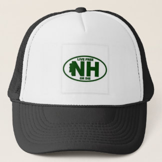 New Hampshire Live Fee or Die Trucker Hat