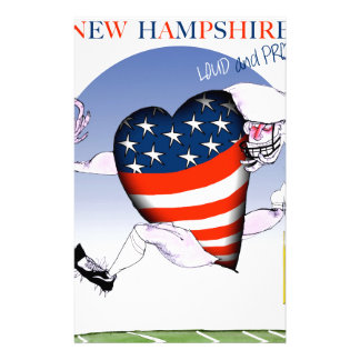new hampshire loud and proud, tony fernandes stationery