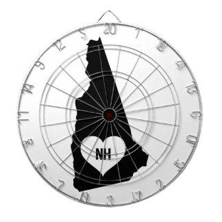 New Hampshire Love Dartboard
