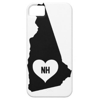 New Hampshire Love iPhone 5 Cover