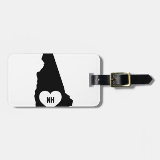 New Hampshire Love Luggage Tag