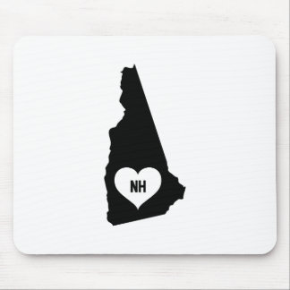 New Hampshire Love Mouse Pad