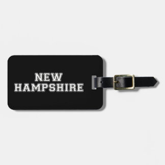 New Hampshire Luggage Tag