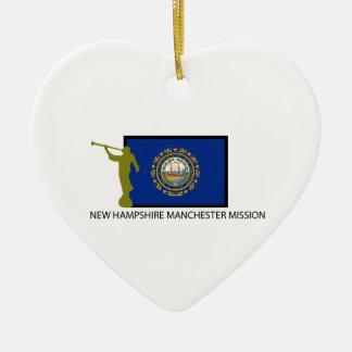 NEW HAMPSHIRE MANCHESTER MISSION LDS CTR CERAMIC ORNAMENT