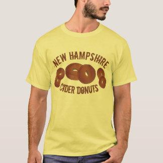 New Hampshire NH Apple Cider Donuts Doughnuts Food T-Shirt