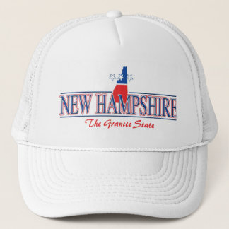 New Hampshire Patriotic Hat