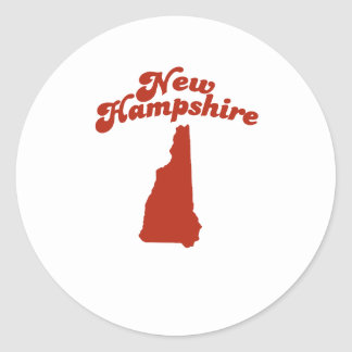 NEW HAMPSHIRE Red State Stickers