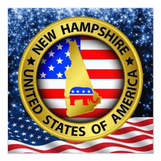 New Hampshire Republican  Invitation - srf