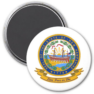 New Hampshire Seal Fridge Magnet